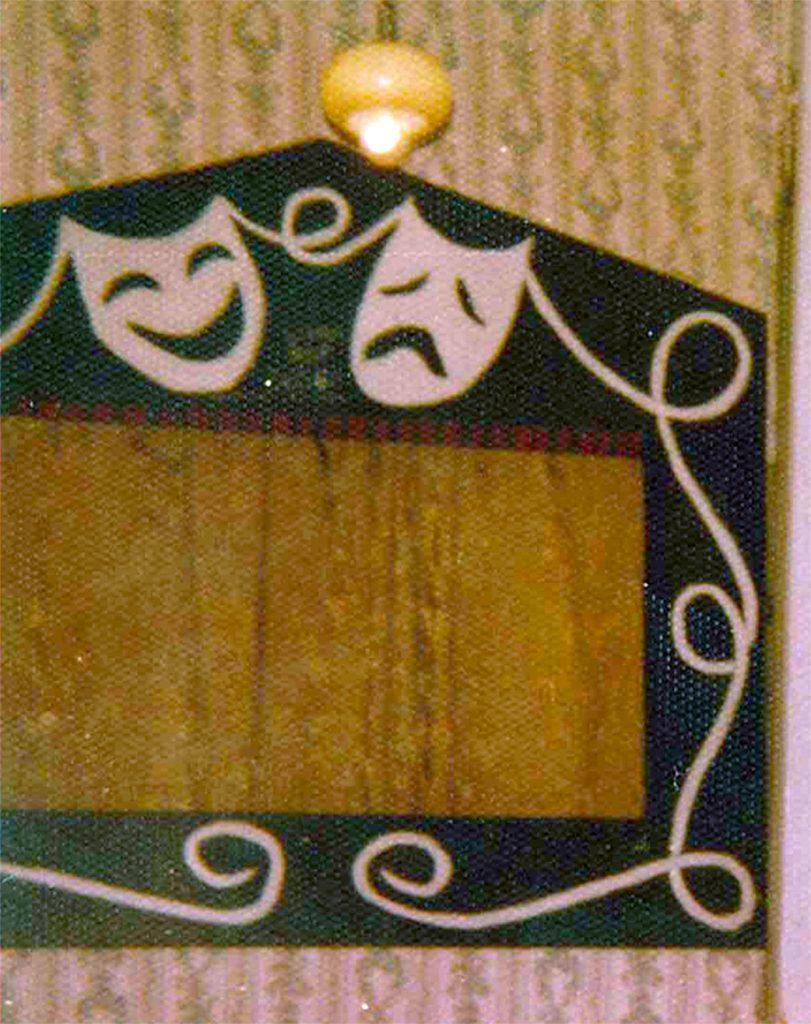 Fotografía do teatriño de monicreques no que se representou por vez primeira a Berenguela