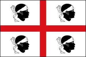 Bandeira de Sardeña